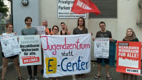 Jugendzentren statt E-Center