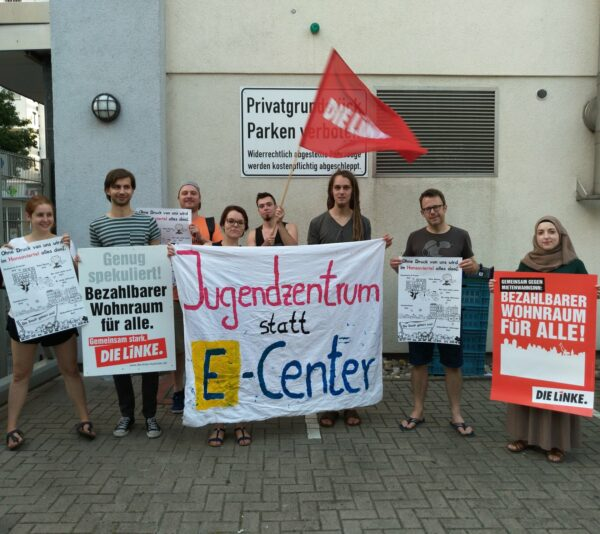Jugendzentren statt E-Center