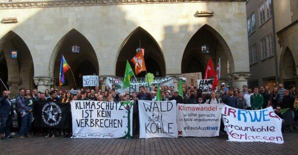 Klima schützen! Hambi retten! Demo in Münster @ Start: Windthorststraße Ende: Rathaus